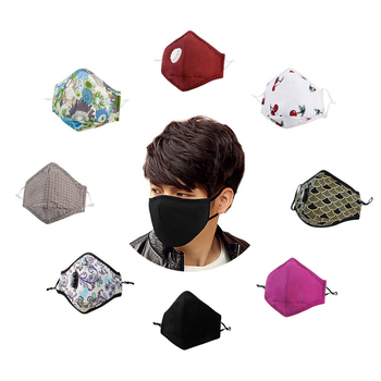 Free sample fashion custom wholesale dustproof allergy face cotton smog mouth mask