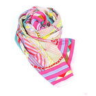 Wholesale Print 100% Silk Ladies Scarf From China Factory