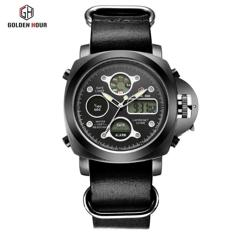 Top Brand Luxury Quartz Wrist Watch Leather Men Watches Fashion Sport Army Military Men Watch Male Clock Relogio Masculino, N/a