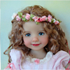 custom vinyl 12 inch fairy doll animate doll toy for young girl