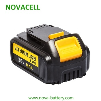 Lithium battery replacement for dewalt drill 20v 5Ah 4Ah 3Ah power tools