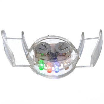 Flashing Led Light Up Mouthpieces,Teeth Makeup Cosplay Props Tricks Toy  Flashing Panda Blinking Mouth Braces Piece  Glow Teeth