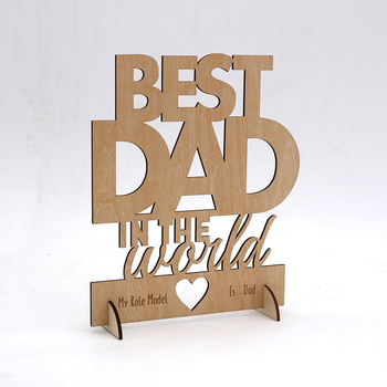 Amazon Custom Factory crafts laser cut wood for fathers/mothers day/wedding/christmas gifts/OEM/ODM