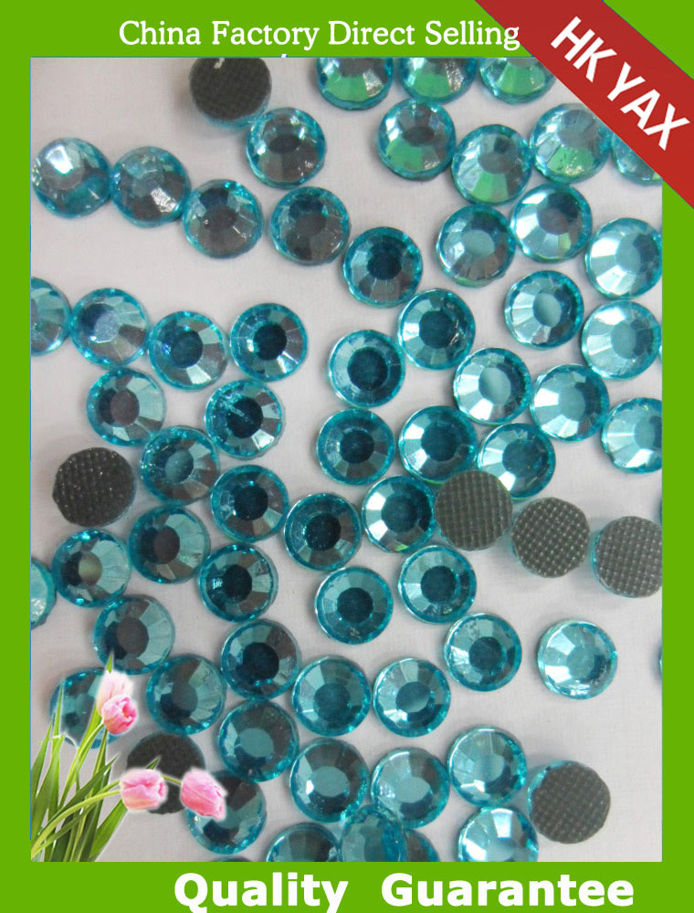 S0806  Sapphire crystal ab stones china shop hotfix crystal ab rhinestones for clothin SS10 SS16 SS20