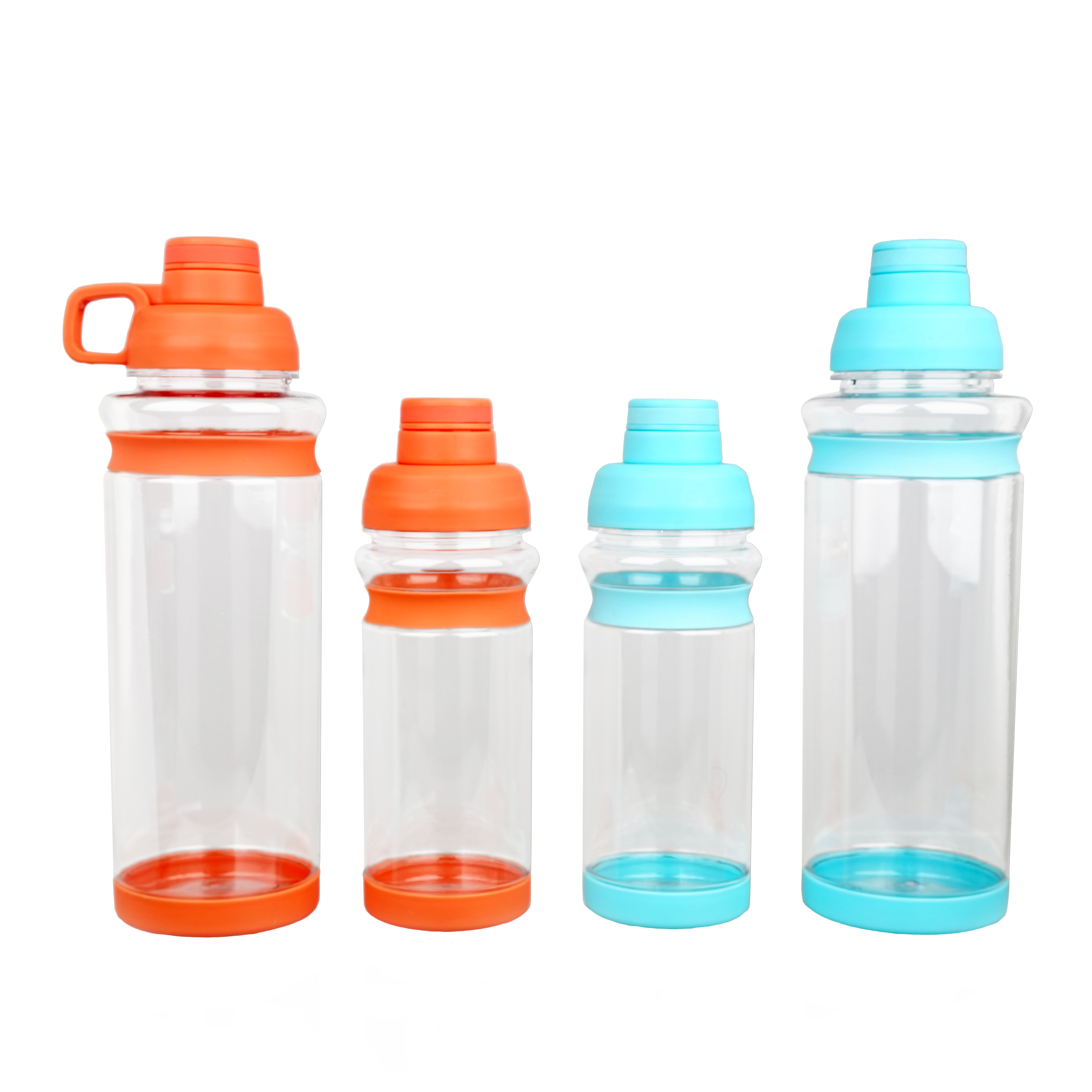 1600ml Big Capacity Water Bottle With Double Cover design BPA Free Plastic Sport Bottles