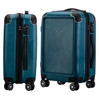 Airport ABS travel carryon spinner luggage with combination lock