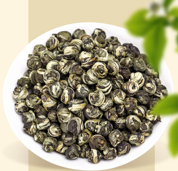 Chinese loose leaf handmade tea dragon pearl green tea Jasmine tea