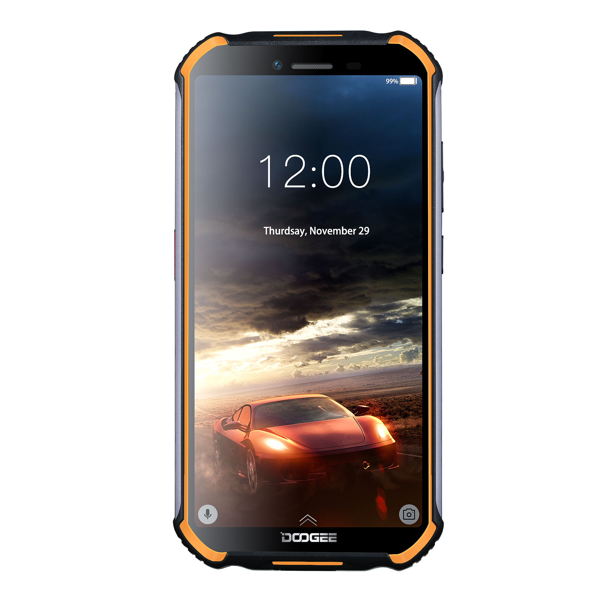 Free Ship Android Rugged Phone,Mobile Phone DOOGEE S40,2GB+16GB Unlock with 3 Camera