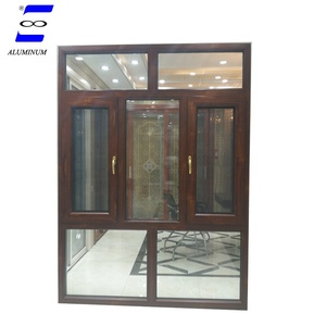 huge aluminum malaysia casement awing glass window price