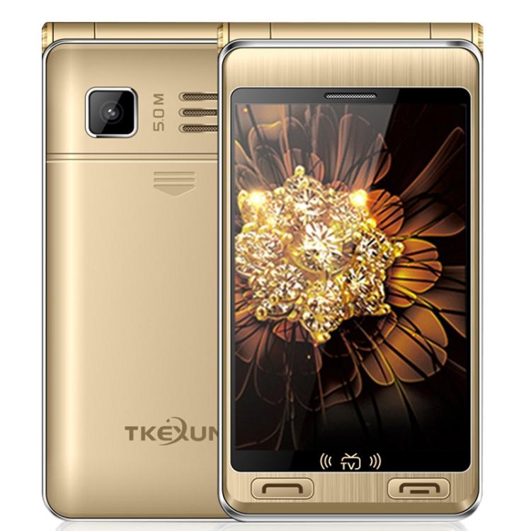 Free Sample Wholesale TKEXUN G10 Plus Flip Phone, Dual Screen smartphone 7500mAh Battery