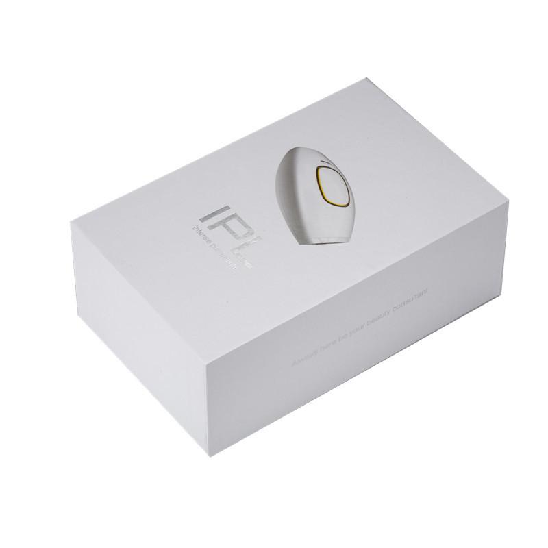 Custom packaging for IPL Hairmoval, White&black