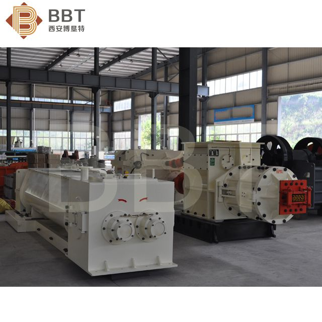 Clay brick making line vacuum extruder solid hollow block molding machine