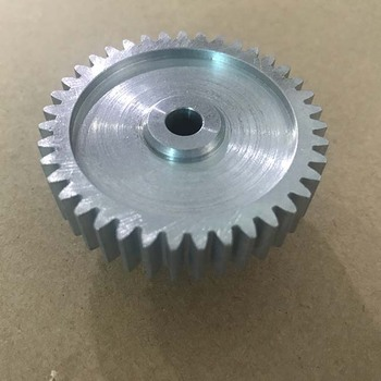 Wholesales aluminum spur gear machining