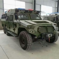 Dongfeng EQ2080F 6X6 off road wheeled armored anti-riot vehicle