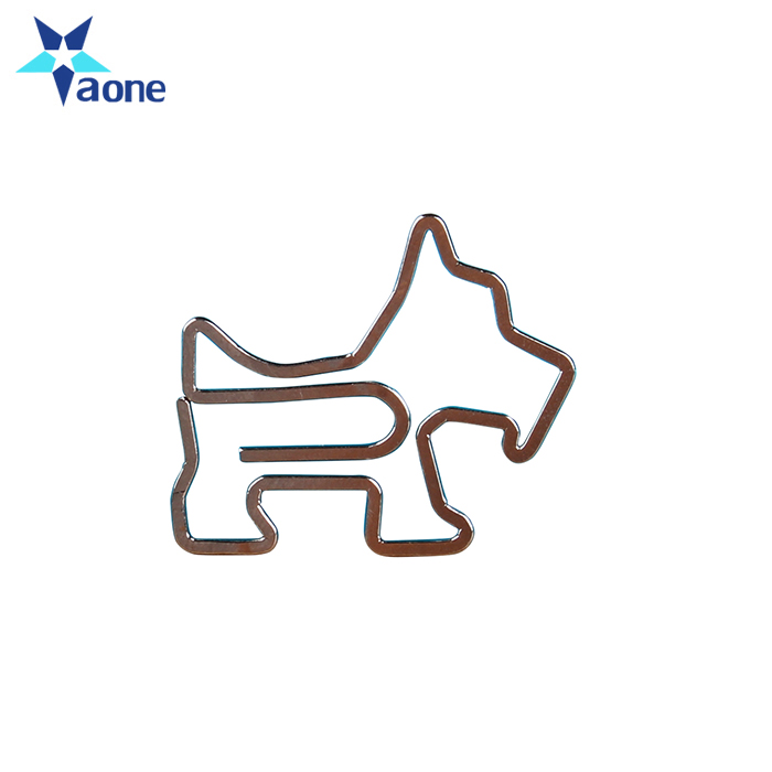 Cartoon Puppy Clip Leuke Pin Rvs Metalen Hond Paperclips Bookmark Paperclip Accessoires Kantoor Metalen Clips