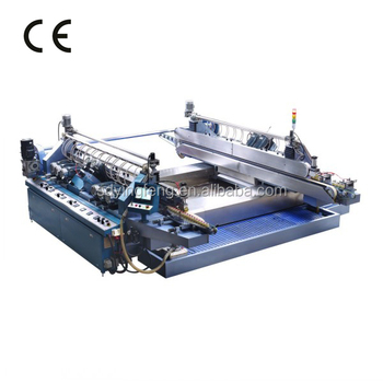 JFD-20 CNC glass double edger machine with 20 spindles fine polishing