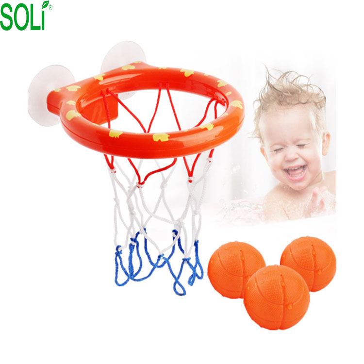 Bad saugnapf basketball baby mini shot basketball bad spielzeug