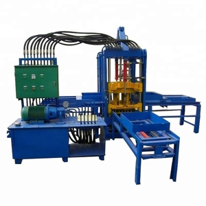 sidewalk pavement brick machine QTF3-20 block moulding machine prices