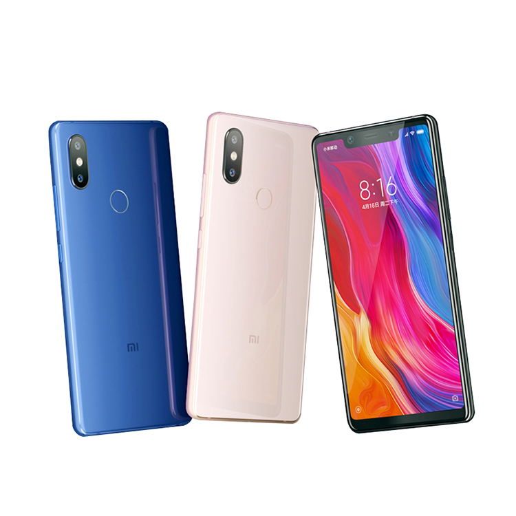 Original Xiaomi Mi 8 Mobile Phone with 6gb Ram 128gb Rom Snapdragon 845 Octa Core 6.21 фото