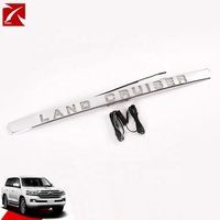 Chrome Trunk Lid Moulding Rear Trunk Molding Cover Trim For Land Cruiser 2018