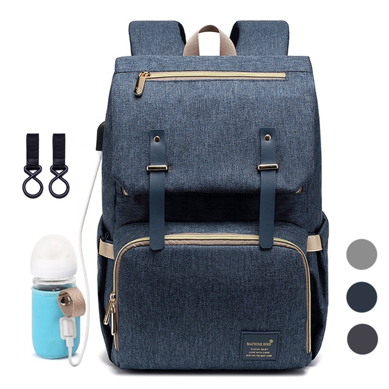 8b63ea90677f Детские пеленки мешок Мама рюкзак 2019 USB средства ухода за кожей для  будущих мам ребенка подгузник кормящих сумки путешествия пеленки рюкзак