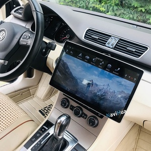 NaviHua Tesla model 12.8 inch Android 8.1 system 2 din universal car dvd audio with PX6 360 turn IPS screen 1920*1080 car radio