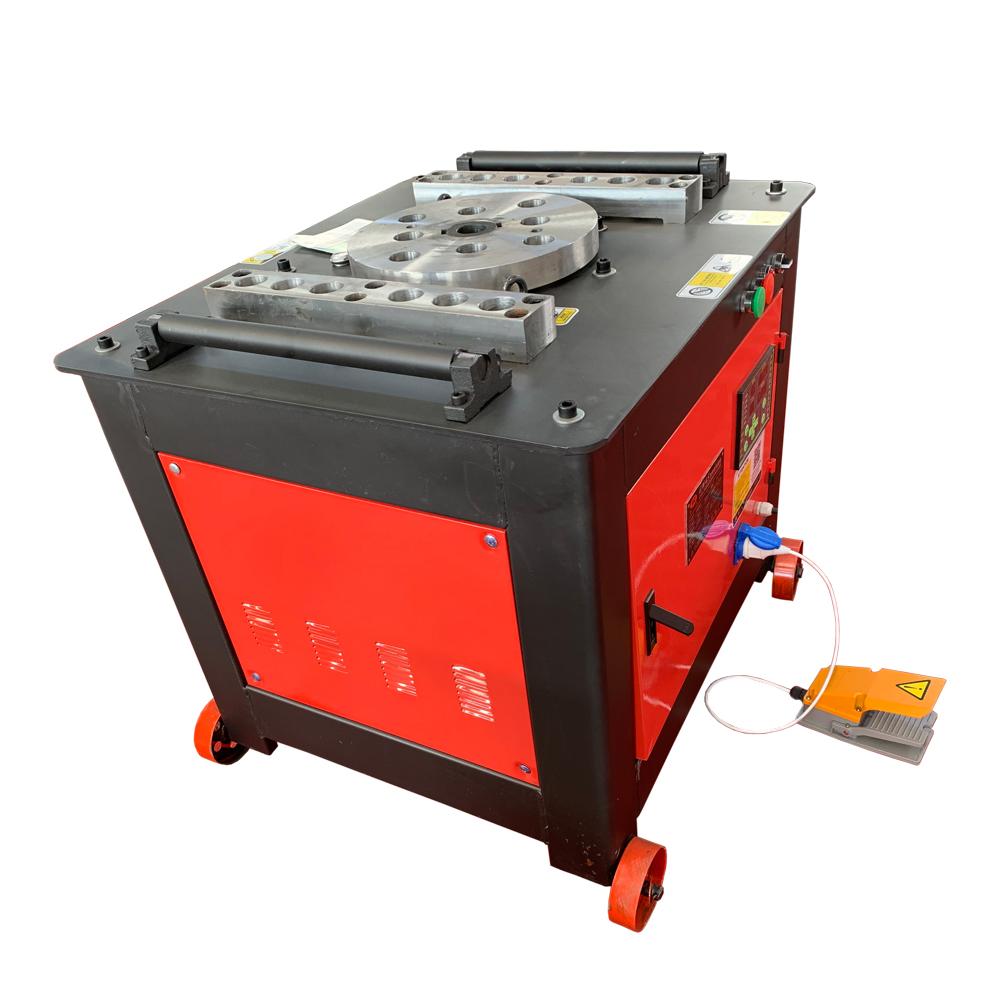 GW50B 6-45 мм арматурный стальной стержень бар стремя Бендер гибочные машины