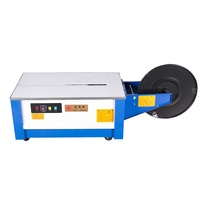cheap price small bundle wheels strapping machine