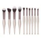 10pcs 2019 new hot Beauty personal care private label professional makeup brushes