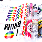 factory direct color plastisol heat transfer printing custom plastisol transfers