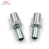 Stainless Steel Braided Brake Hose Fitting and collar with barbs