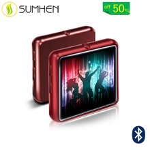 Mahdi M260 8G 16G Schermo Intero Bluetooth Lossless MP3 Carta di TF OTG Audio Video Radio <span class=keywords><strong>Lettore</strong></span> Musicale- rosso 8GB