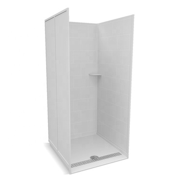 Easy Installation Solid Surface Shower Wall Panels Tray ...