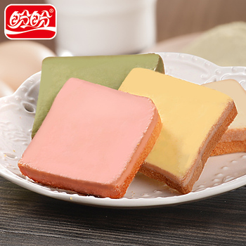 Panpan low fat biscuits strawberry flavor bread