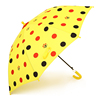 China manufacturers customized logo window 17 inch yellow inflatable children automatic kids umbrella