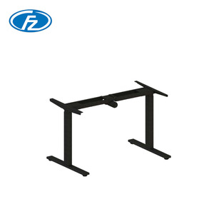 Office Lady Single Motor Adjustable Height Work Table Computer Home Standing Electric Table