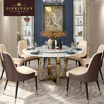 Pleasant Italian Strong Marble Stone Gold Steel Base Round Dining Table Modern New Design High Gloss Dining Table Buy Modern Designs Dining Table Italian Home Remodeling Inspirations Genioncuboardxyz