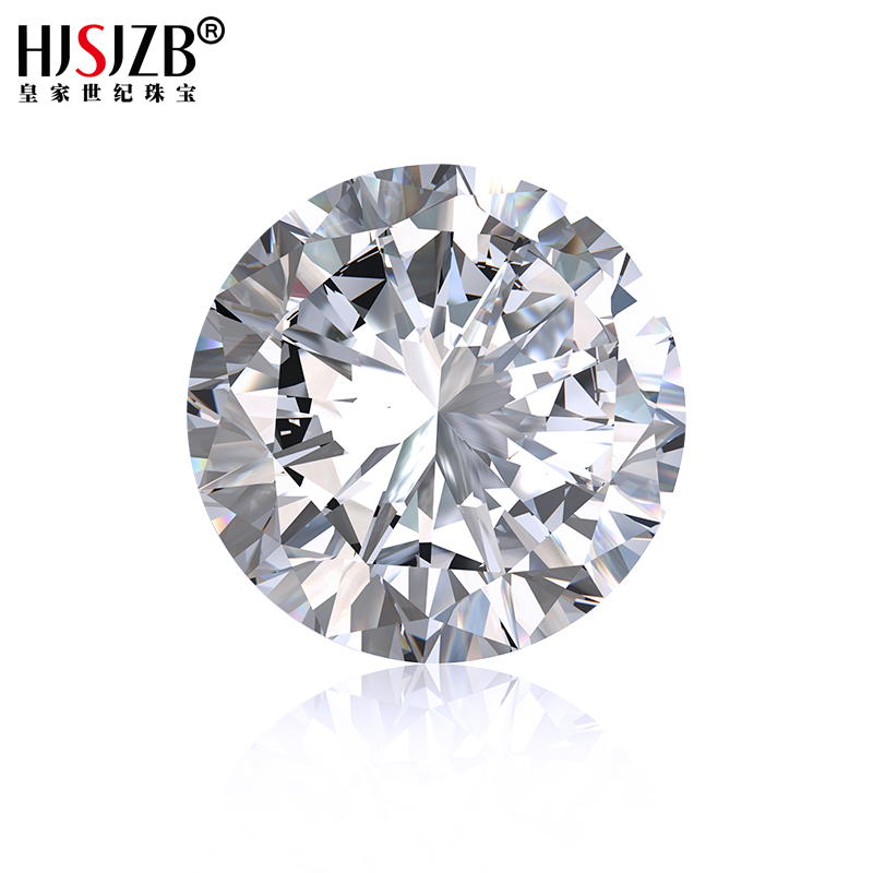 High Quality 3ct Round Shape EF Color Clarity VVS1 Natural Moissanite <strong>Stone</strong>