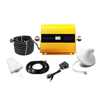 Complete set GSM900D Mobile Signal Repeater 900MHz Cell Phone Signal Booster/amplifier with indoor/outdoor Antenna and cable