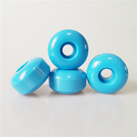 Free Samples 100A Durometer Skateboard Cruiser Wheels with blue color