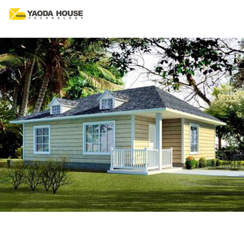 Project prefab real estate prefabricated light steel holiday villa house