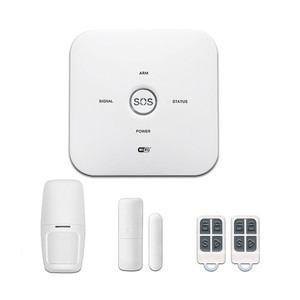 Wireless Smart Small Security SOS Home Alarm GSM/WIFI Alarm Of China Manufacture