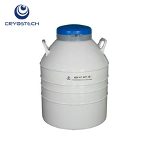 YDS-47-127-10 47L dewar flask liquid nitrogen container animal semen thermos for for artificial insemination
