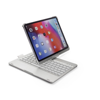 Multi - function multi - Angle rotating flip - top wireless bluetooth keyboard case for Ipad