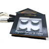 2019 trending 3D magnetic eyeliner faux mink eyelashes no glue