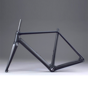 Newest disc Cycle cross carbon frame, Disc brake carbon frame, chinese cyclo cross frame FM279