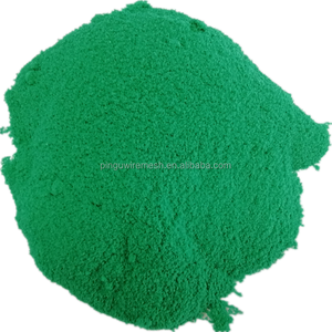 Green 6005 plastic polyethylene powder coating for fencing