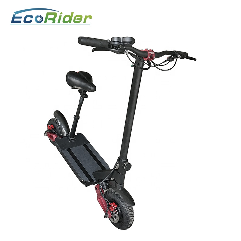 Europe warehouse stock Eco-Rider 10 Inch Electric Scooter Portable 60V 3600W Folding Off Road Electric Scooter, N/a