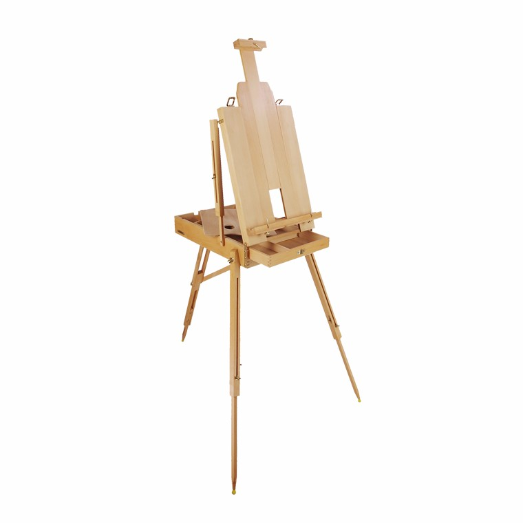 Wholesale High Quality New Style Wooden Folding Sketch Box Easel For Supplier