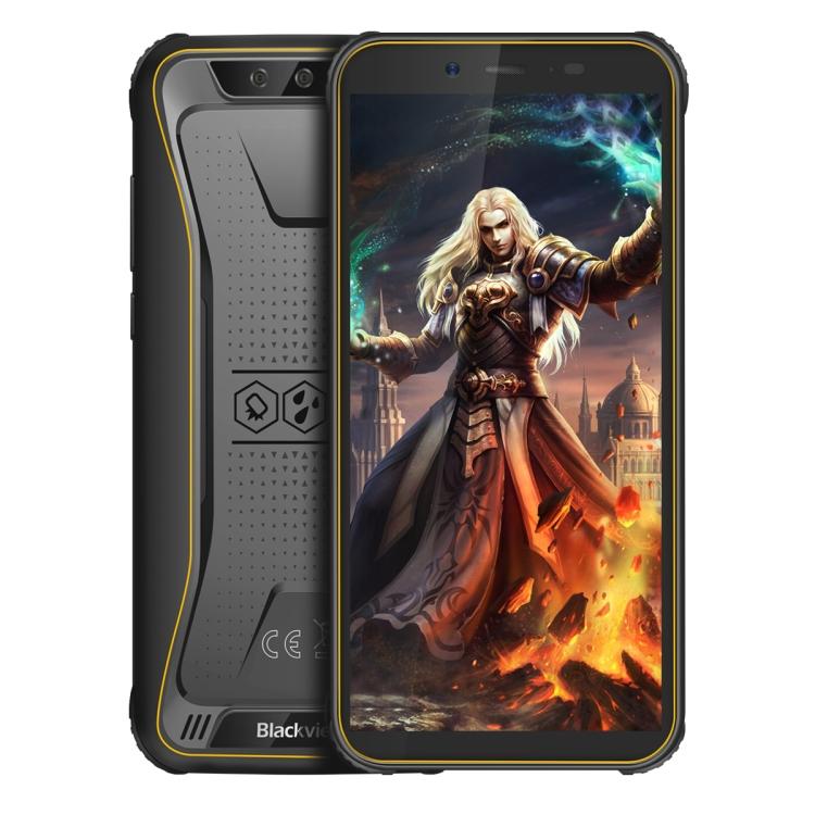 Original Blackview BV5500 Pro Rugged Phone IP68 Waterproof Dustproof Shockproof Face Unlock 5.5 inch Android 9.0 Smart Phone